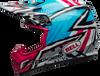 BELL MX-9 MIPS TAGGER ASYMMETRIC GLOSS BLUE/PINK