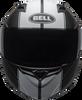 BELL REVOLVER EVO MATTE BLACK/WHITE RALLY