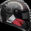 BELL SRT MODULAR HART-LUCK GLOSS/MATTE CHARCOAL/WHITE/RED SKULL