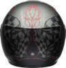 BELL SRT MODULAR HART-LUCK GLOSS/MATTE CHARCOAL/WHITE/RED SKULL