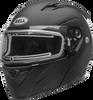 BELL REVOLVER EVO SNOW W/ELECTRIC SHIELD MATTE BLACK