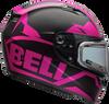 BELL QUALIFIER SNOW W/ELECTRIC SHIELD MATTE PINK/BLACK
