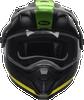 BELL MX-9 ADVENTURE SNOW SWITCHBACK MATTE BLACK/FLO GREEN