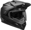BELL MX-9 ADVENTURE SNOW W/ELECTRIC SHIELD MATTE BLACK