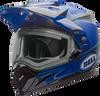 BELL MX-9 ADVENTURE SNOW W/ELECTRIC SHIELD MATTE/GLOSS BLUE