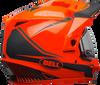 BELL MX-9 ADVENTURE SNOW W/ELECTRIC SHIELD TORCH GLOSS ORANGE/BLACK