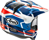 Arai XD4 Depart Helmet White/Blue