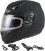 GMAX MD-04S Modular Snow Helmet W/Electric Shield Matte Black