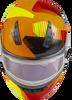 GMAX MD-04S Modular Reserve W/Electric Shield Neon Orange/Hi-Vis