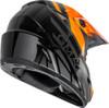 GMAX MX-46Y Mega Off-Road Youth Helmet Black/Orange/Silver
