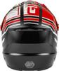 GMAX MX-46 Mega Off-Road Helmet Black/Red/White
