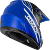 GMAX MX-46Y Mega Off-Road Youth Helmet Matte Blue/Black/White