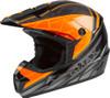 GMAX MX-46 Mega Off-Road Helmet Black/Orange/Silver