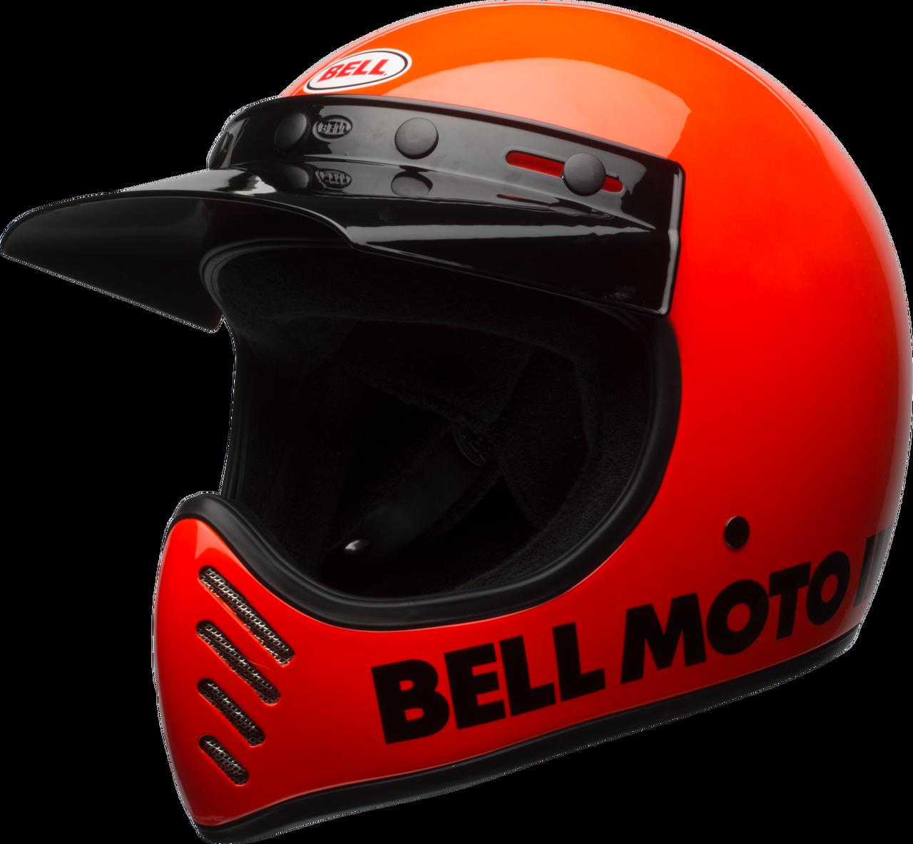 BELL MOTO-3 GLOSS FLO ORANGE CLASSIC