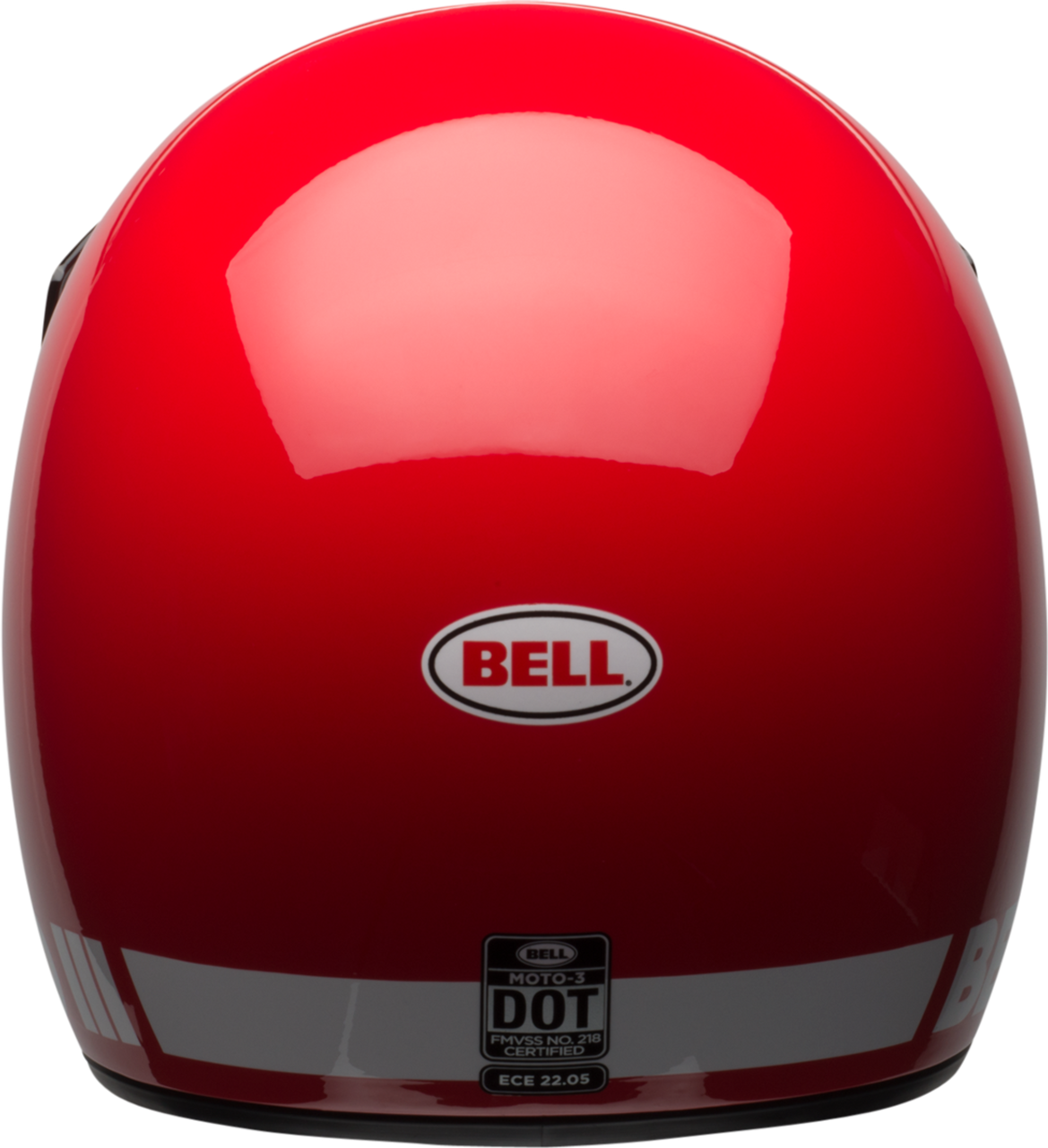 BELL MOTO-3 GLOSS RED CLASSIC