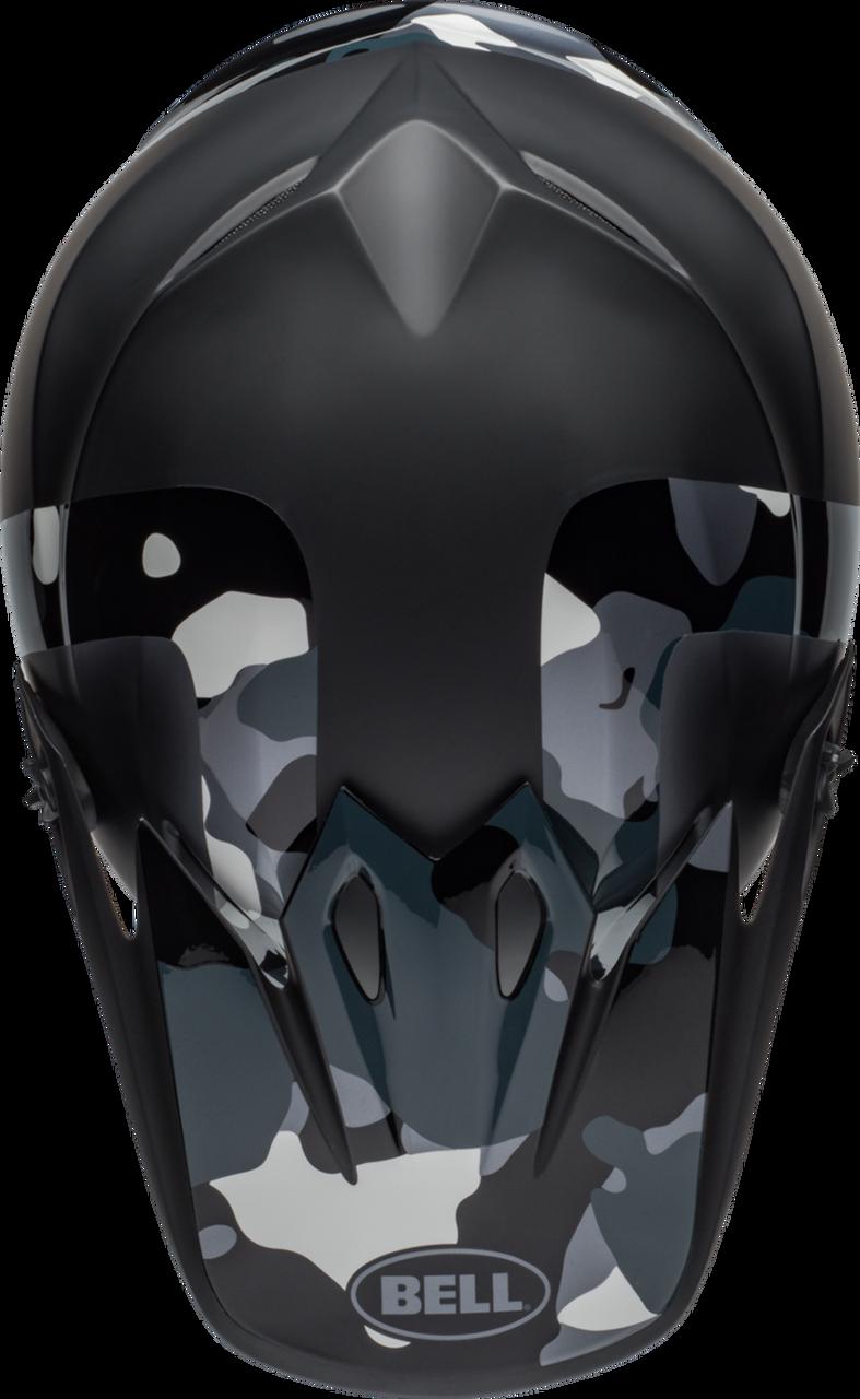 BELL MX-9 MIPS PRESENCE MATTE/GLOSS BLACK TITANIUM CAMO