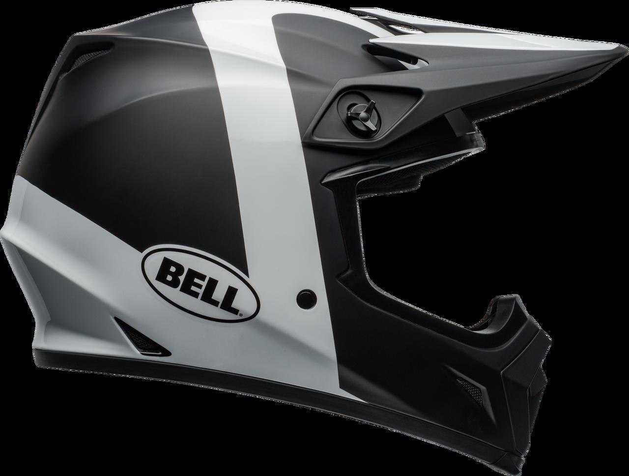 BELL MX-9 MIPS PRESENCE MATTE/GLOSS BLACK/WHITE