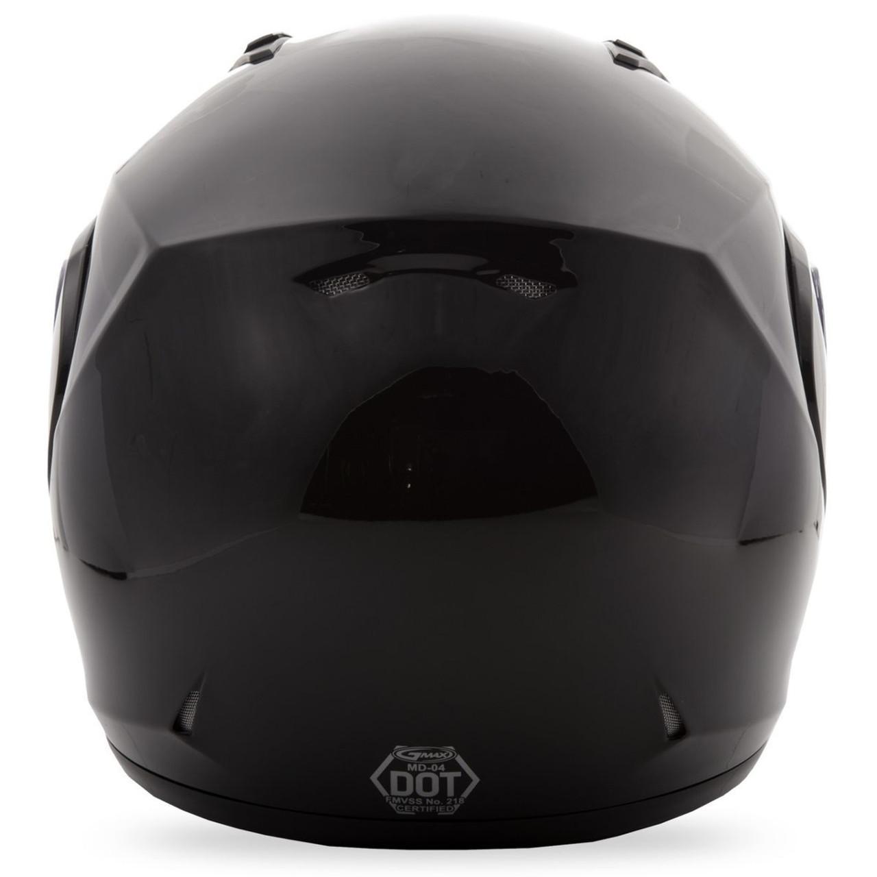 GMAX MD-04S Snow Helmet Black