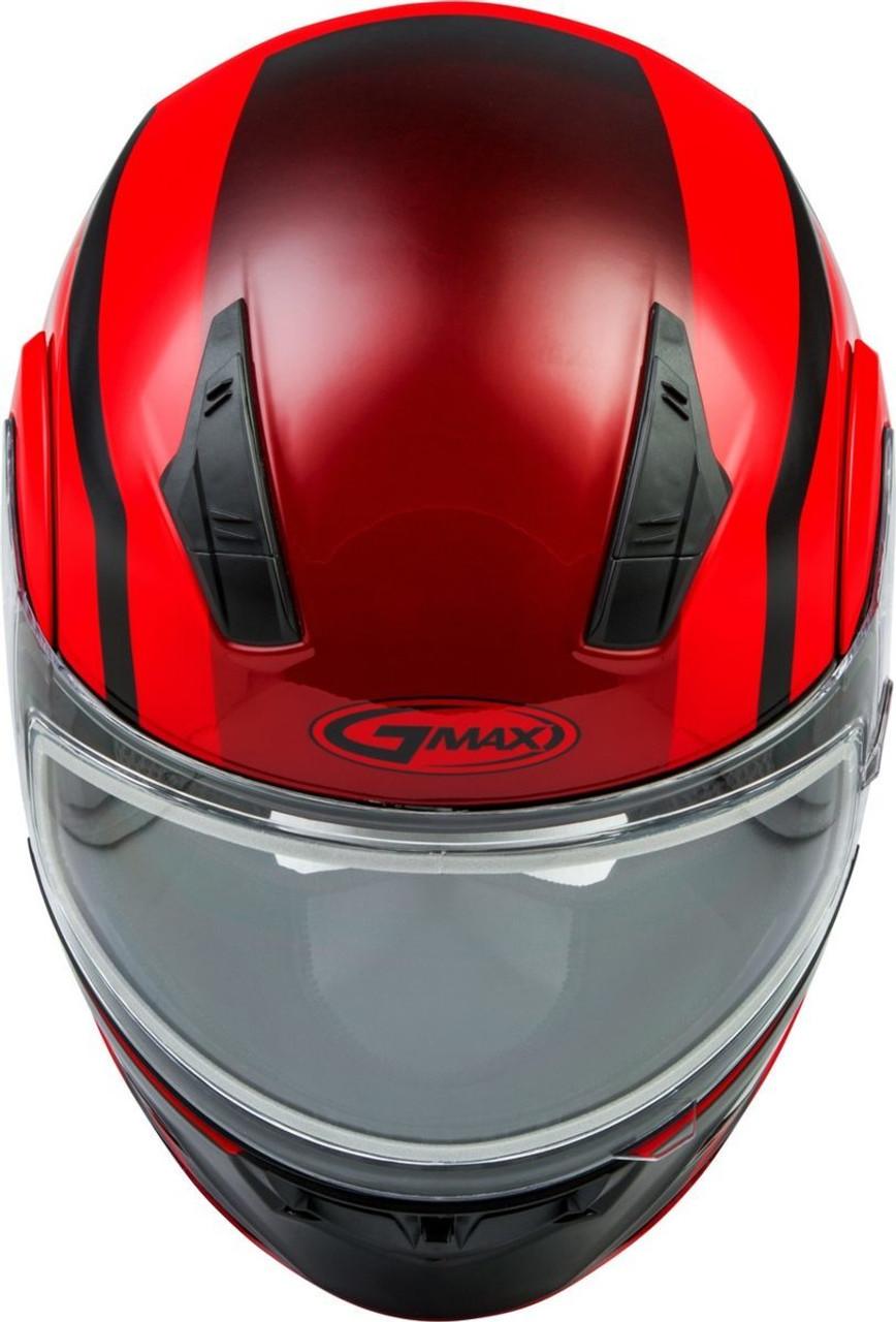 GMAX MD-04S Docket Snow Helmet Red/Black