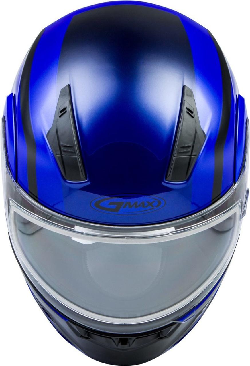 GMAX MD-04S Docket Snow Helmet Blue/Black