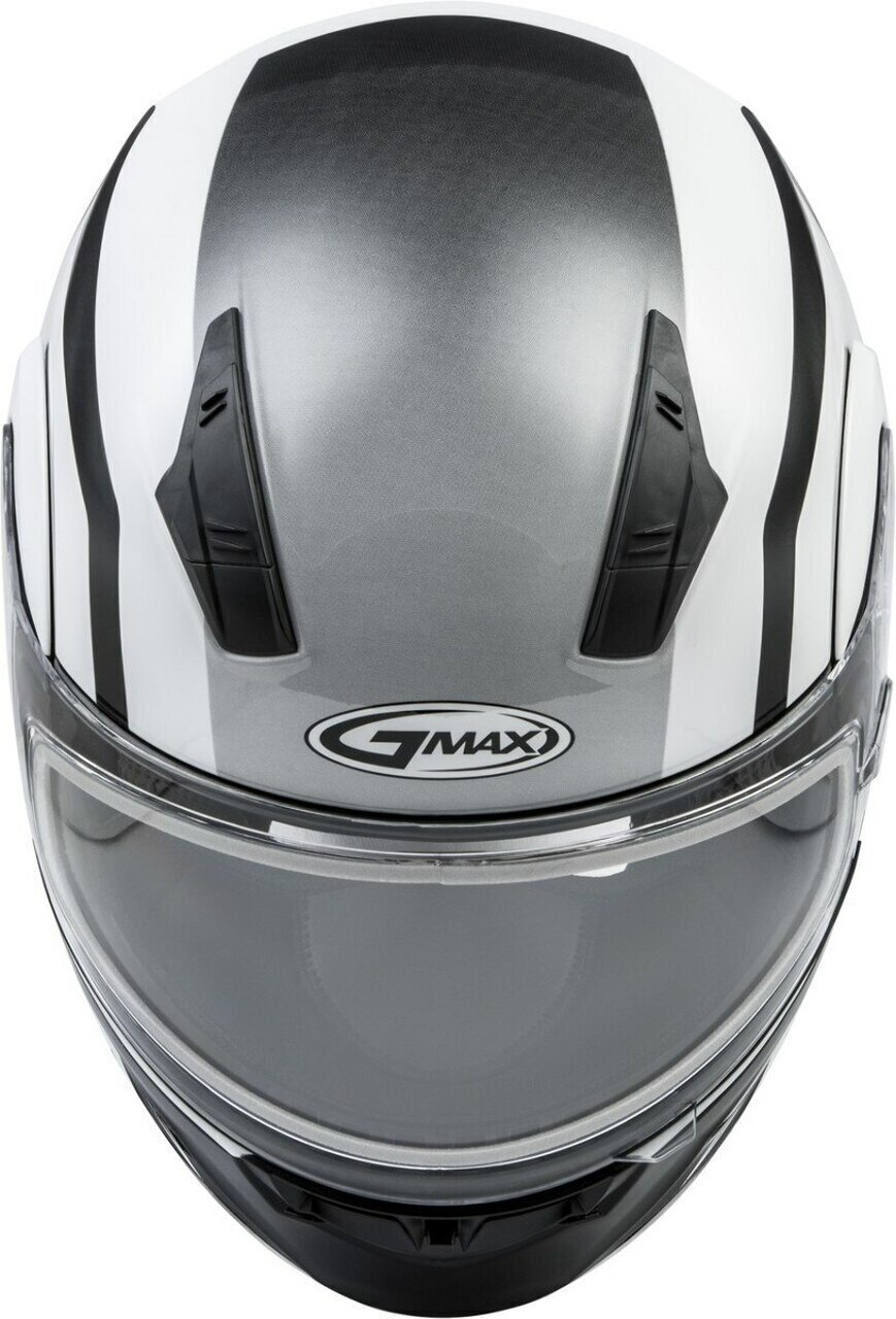 GMAX MD-04S Docket Snow Helmet White/Black
