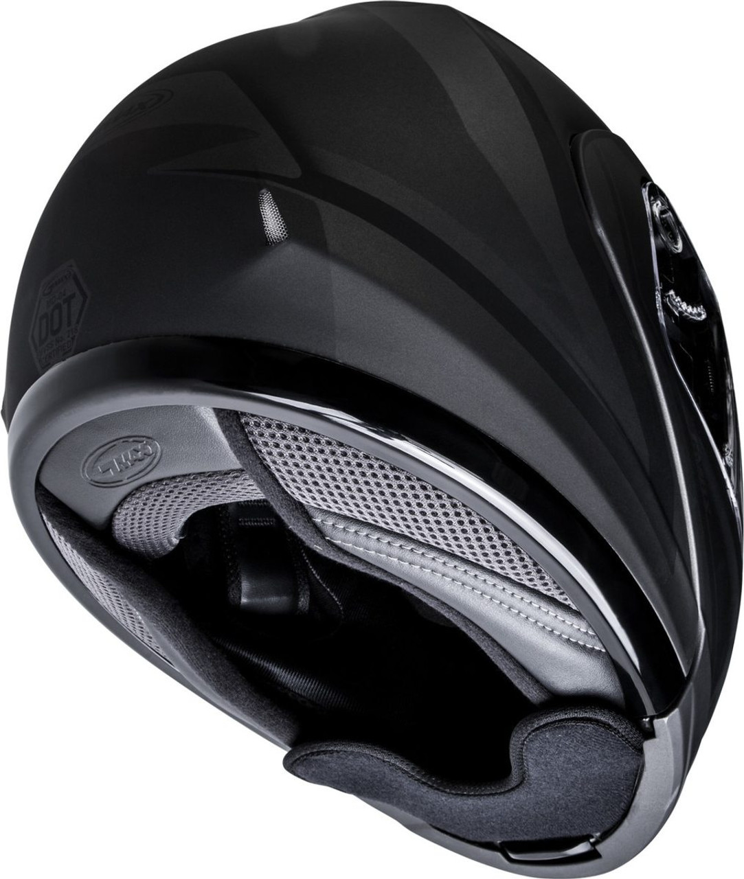 GMAX MD-04S Docket Snow Helmet Matte Dark Silver/Black
