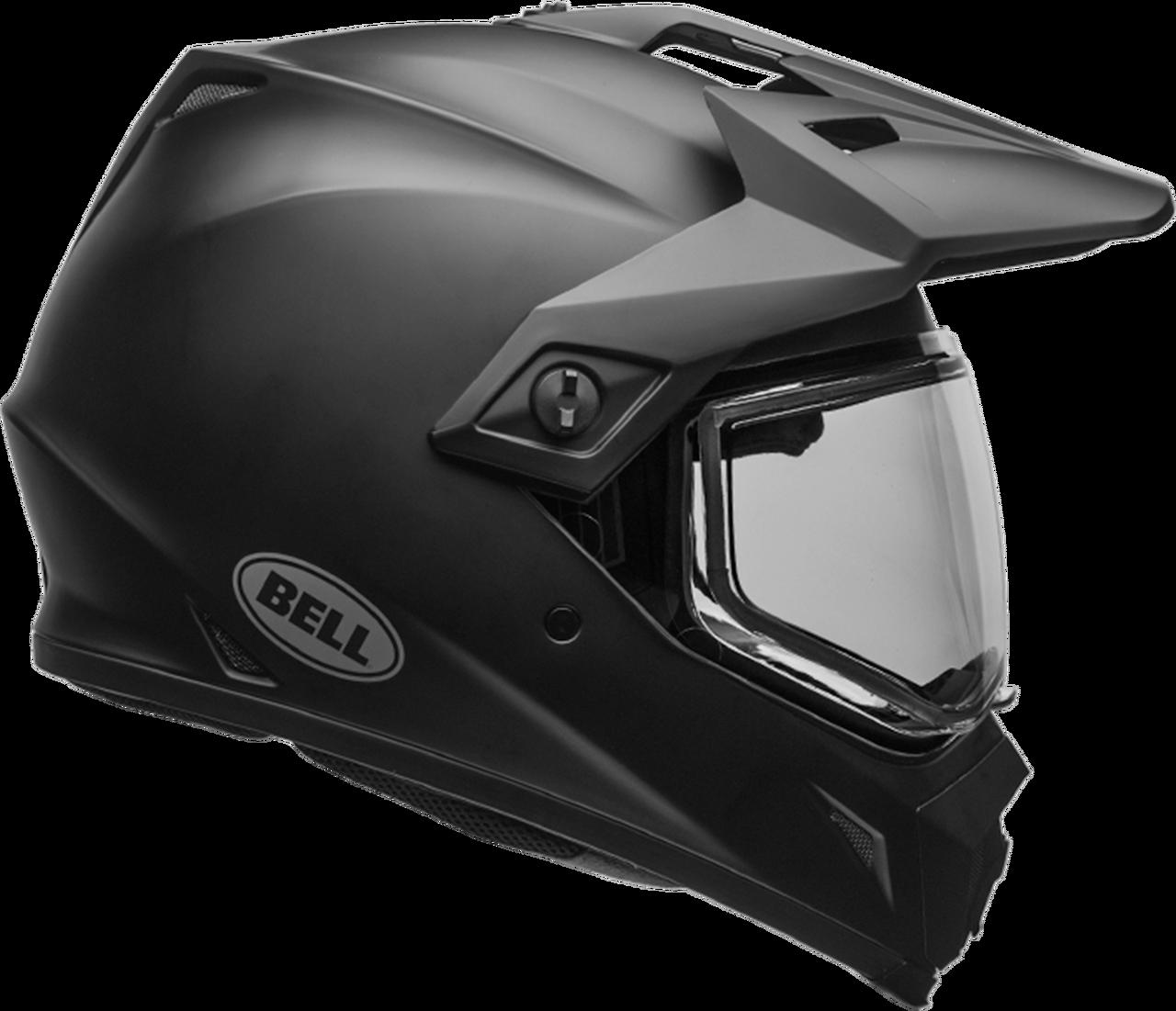 BELL MX-9 ADVENTURE SNOW MATTE BLACK