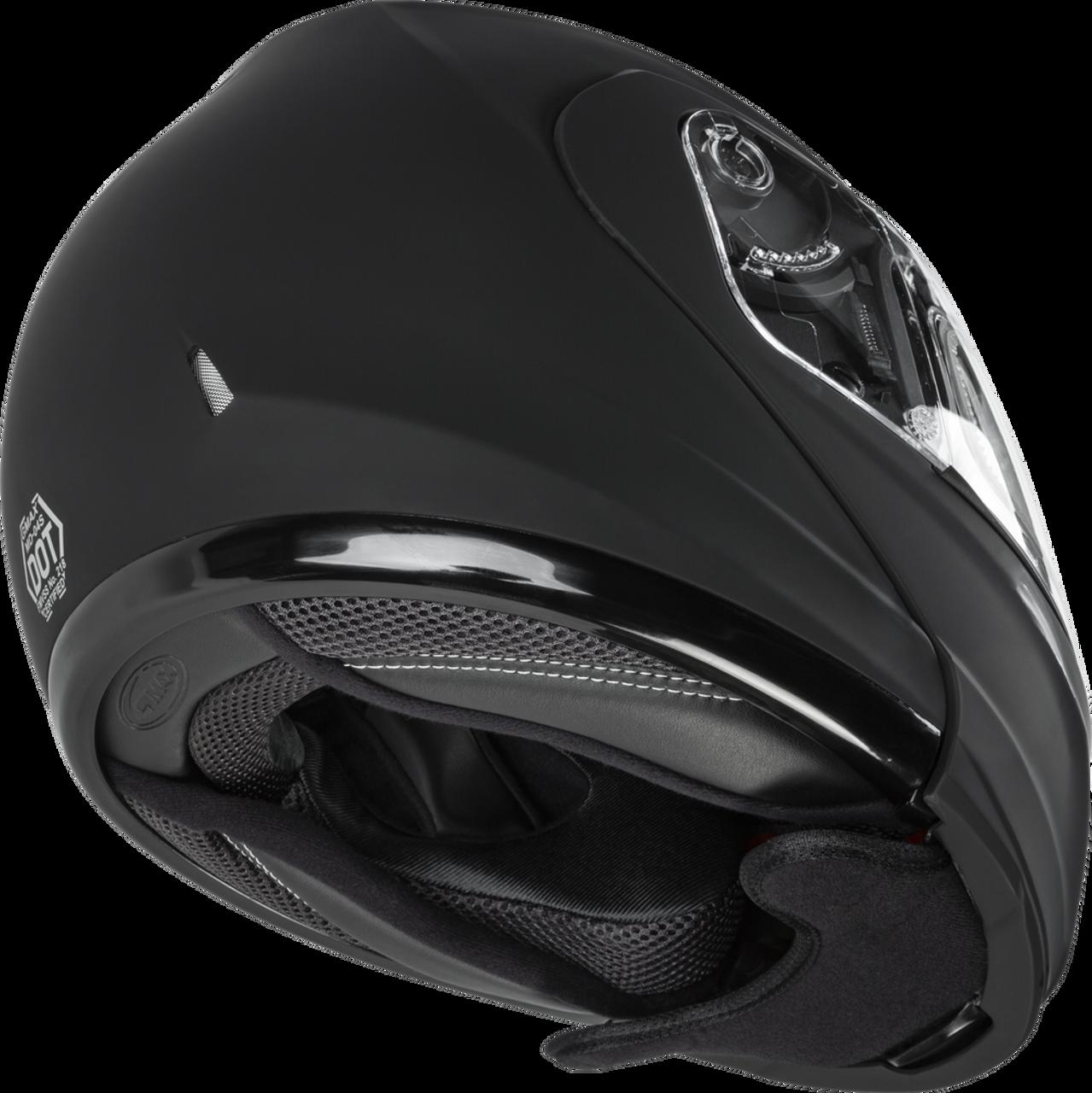 GMAX MD-04S Modular Snow Helmet W/Electric Shield Matte Black