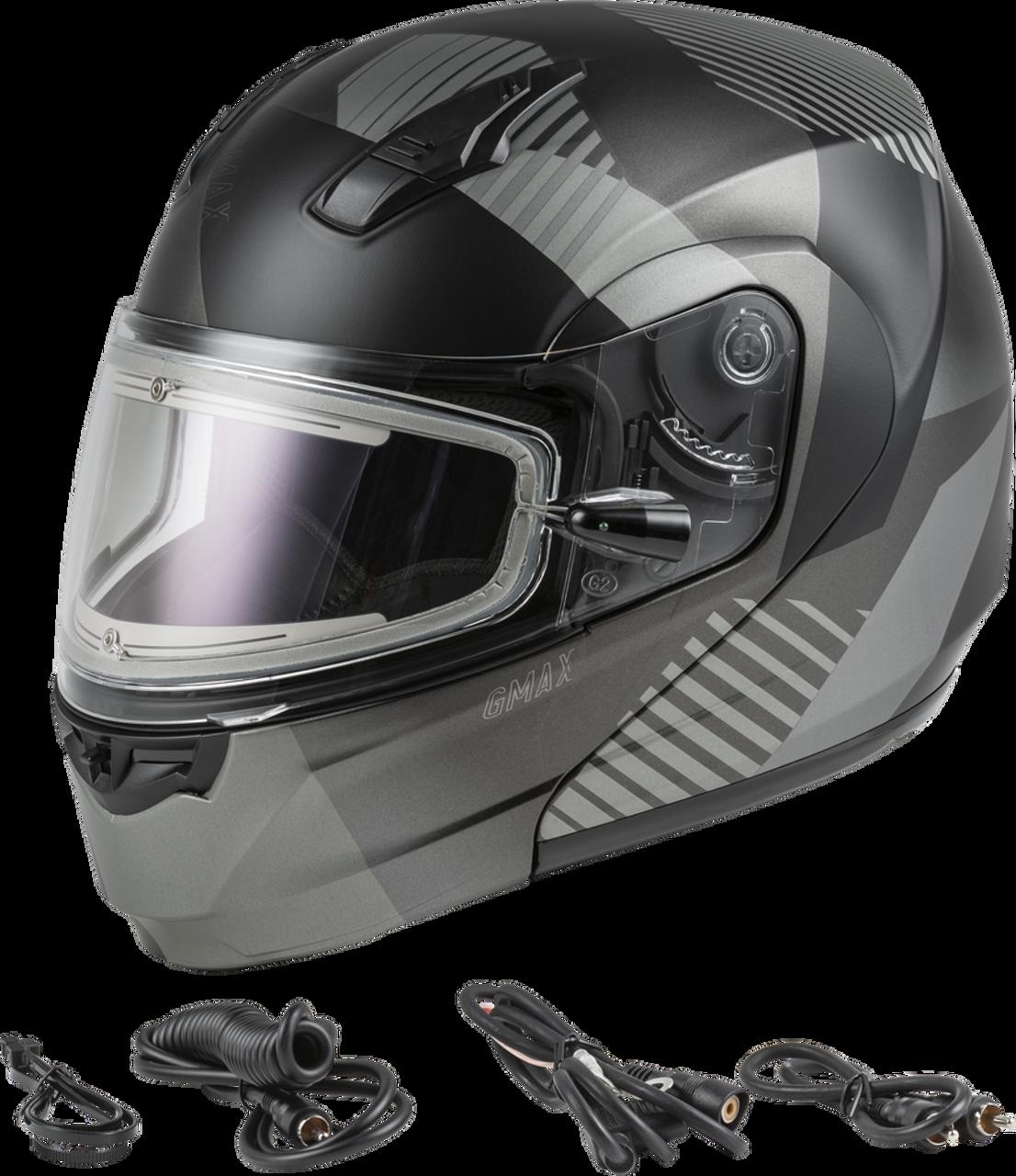 GMAX MD-04S Modular Reserve W/Electric Shield Matte Dark Silver/Black