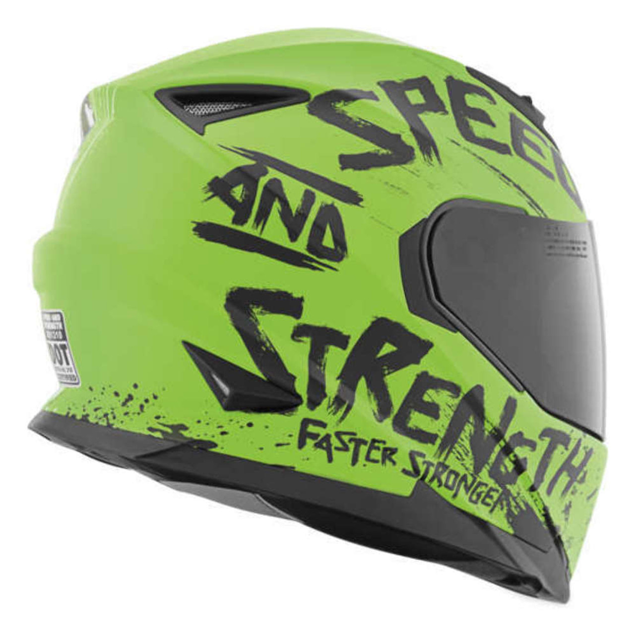 SPEED AND STRENGTH BIKES ARE IN MY BLOOD SS1310 GREEN/BLACK
