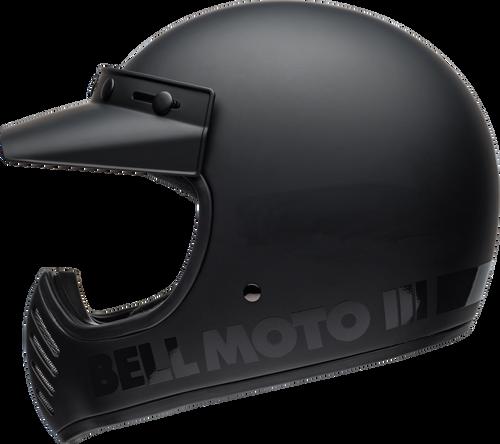 BELL MOTO-3 MATTE/GLOSS BLACKOUT CLASSIC