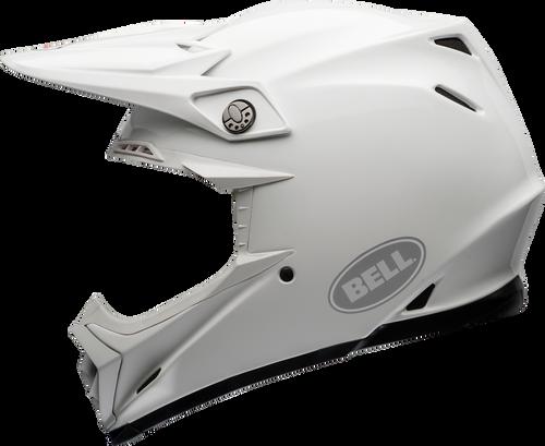 BELL MOTO-9 CARBON FLEX GLOSS WHITE