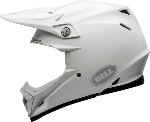 BELL MOTO-9 CARBON FLEX GLOSS WHITE