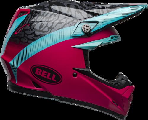 BELL MOTO-9 MIPS CHIEF MATTE/GLOSS BLACK/PINK/BLUE