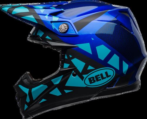 BELL MOTO-9 MIPS TREMOR MATTE/GLOSS BLUE/BLACK