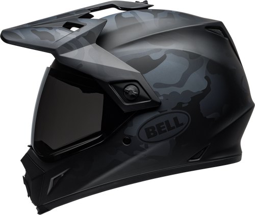BELL MX-9 ADVENTURE MIPS STEALTH MATTE BLACK CAMO