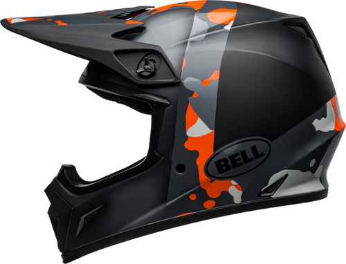 BELL MX-9 MIPS PRESENCE MATTE/GLOSS BLACK FLO ORANGE CAMO