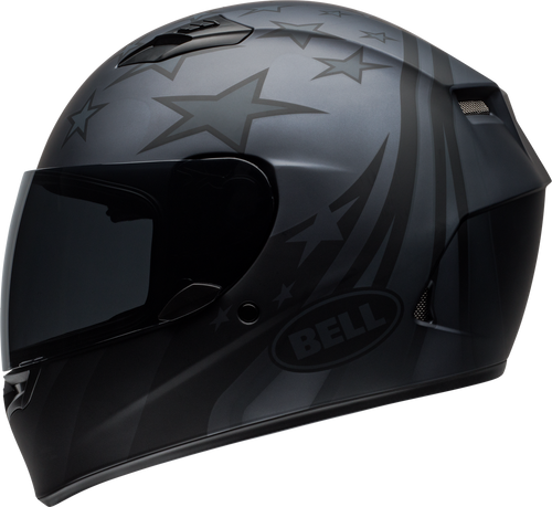 BELL QUALIFIER HONOR MATTE TITANIUM/BLACK