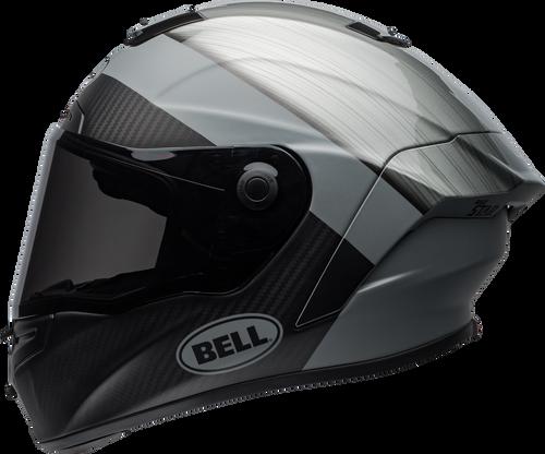 BELL RACE STAR FLEX SURGE MATTE/GLOSS BRUSHED METAL/GREY