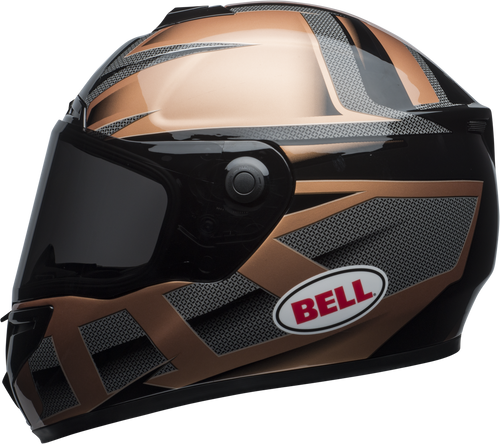 BELL SRT PREDATOR GLOSS COPPER/BLACK
