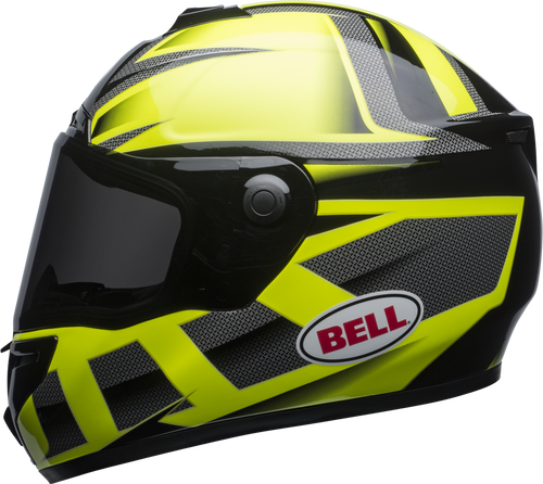 BELL SRT PREDATOR GLOSS HI-VIZ GREEN/BLACK