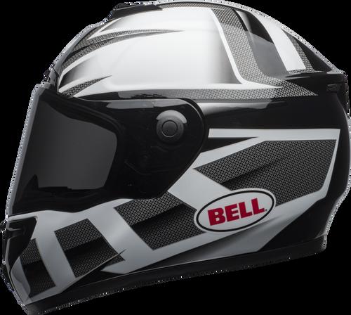BELL SRT PREDATOR GLOSS WHITE/BLACK