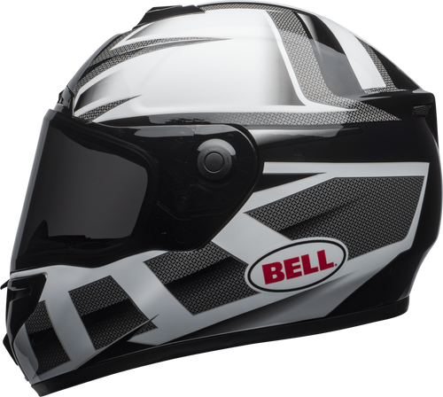 BELL SRT PREDATOR GLOSS WHITE/BLACK