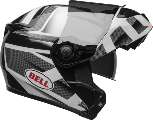 BELL SRT MODULAR PREDATOR GLOSS WHITE/BLACK