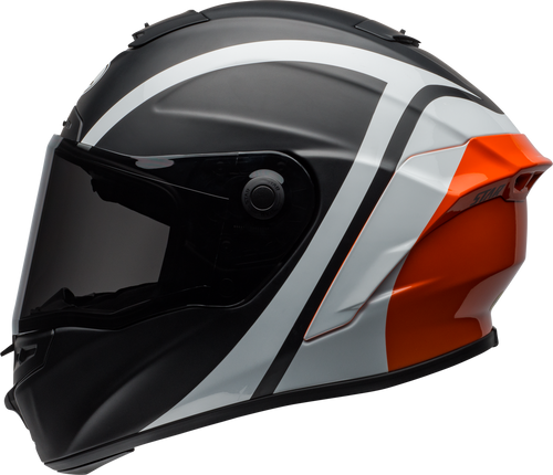 BELL STAR MIPS TANTRUM MATTE/GLOSS BLACK/WHITE/ORANGE