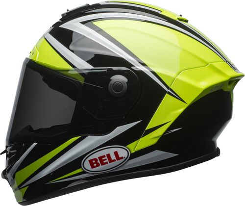 BELL STAR MIPS TORSION GLOSS HI-VIZ GREEN/BLACK