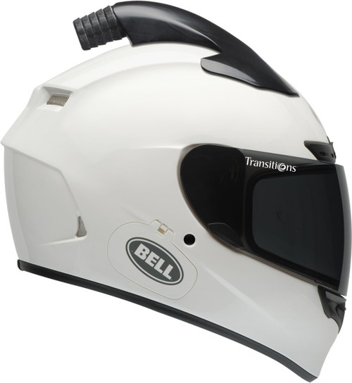 BELL QUALIFIER DLX FORCED AIR GLOSS WHITE