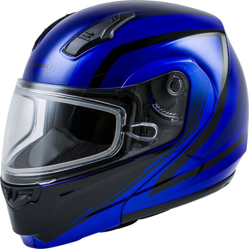 GMAX MD-04S Docket Snow Helmet Blue/Black
