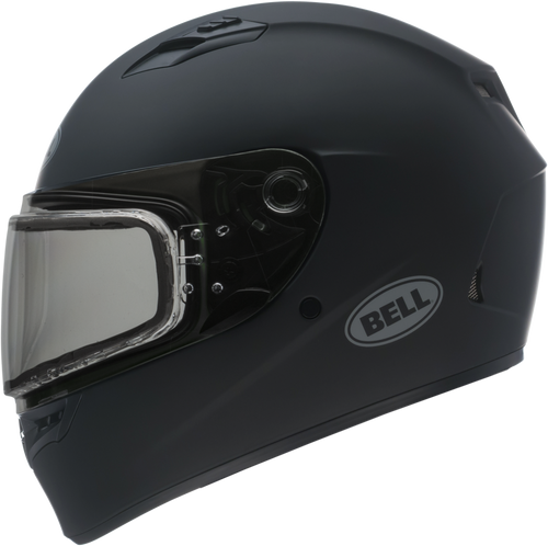 BELL QUALIFIER SNOW MATTE BLACK