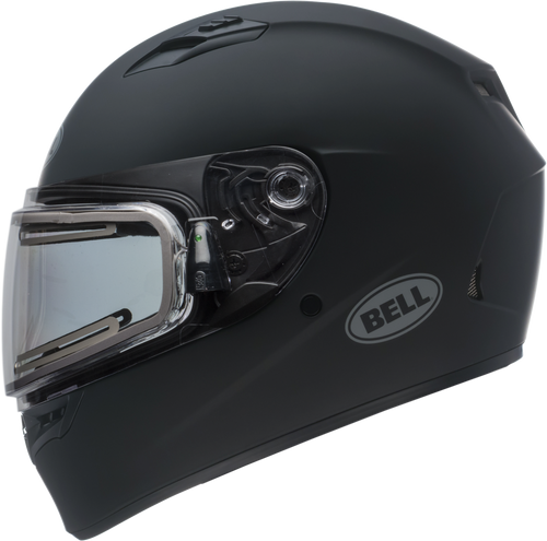 BELL QUALIFIER SNOW W/ELECTRIC SHIELD MATTE BLACK